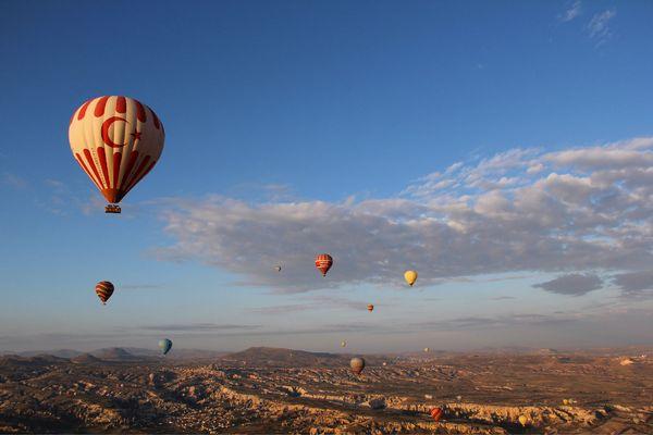 土耳其熱氣球圖片