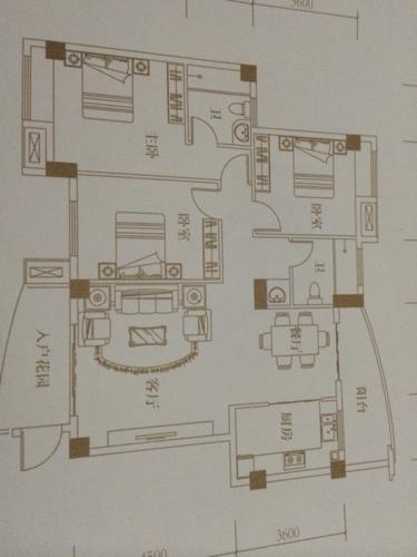 下圖戶型怎么樣?房子坐北朝南圖片