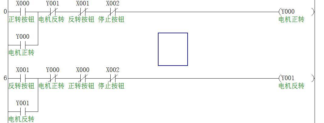 接触器正反转原理图_PLC正反转梯形图_百度知道