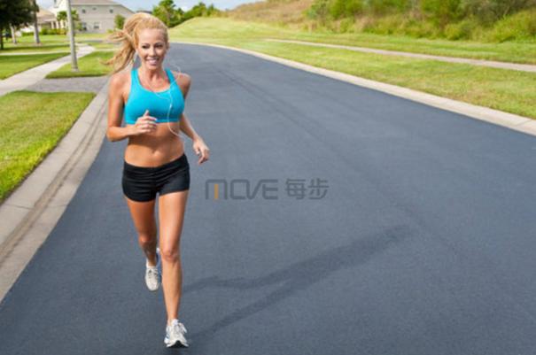 描写跑步比赛的环境