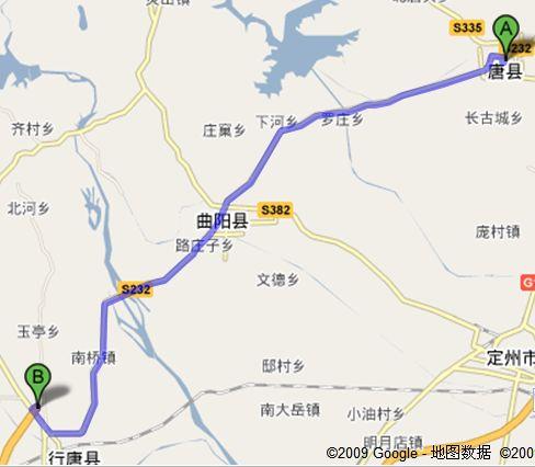 从唐县怎么上京昆高速公路地图
