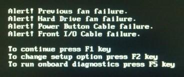 DELL OptiPlex 390 BIOS警告怎么关闭_百度知道