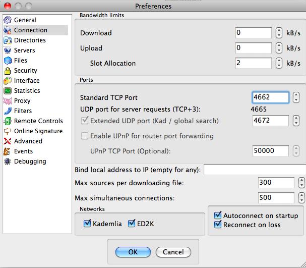 Mac上emule的port 4662如何打开_百度知道