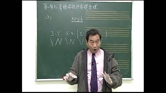 第一小节那个,带着附点音符的属于切分音吗?