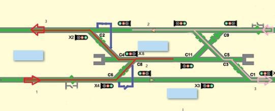 地铁存车线