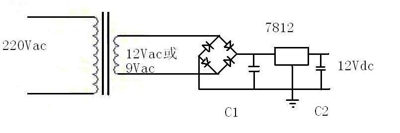 摩托车整流器的作用_交流220伏电压转换成直流12伏电压原理图_百度知道