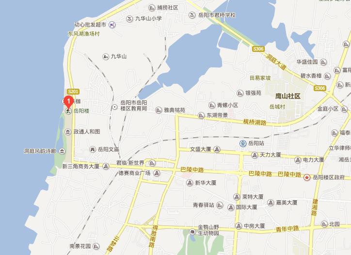 岳阳楼记地理位置