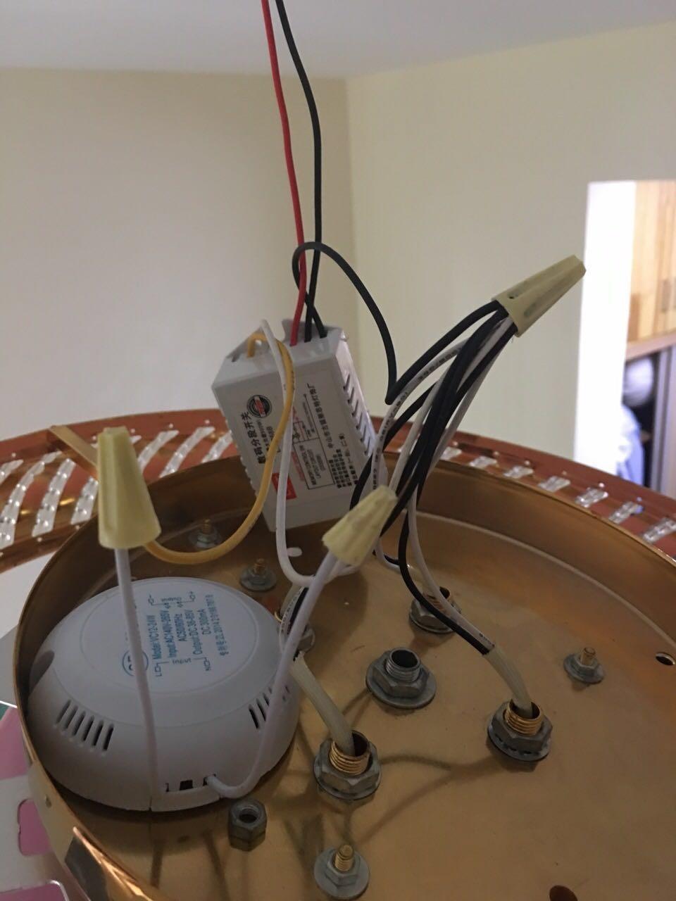 两段分段开关器怎么接_家里的吸顶灯,数码分段开关怎么接,还有LED的镇流器怎么接 ...