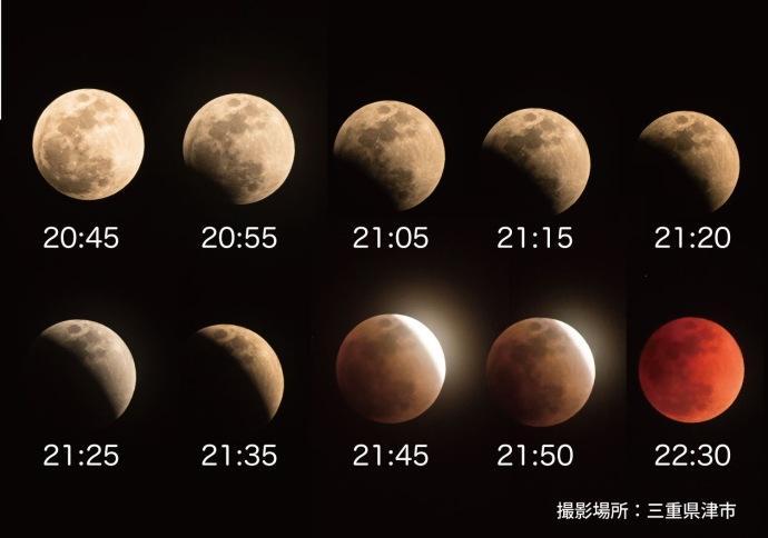 今晚月亮红色什么情况