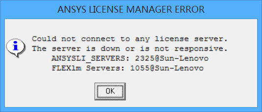 ansys13 0安装之后打不开,显示ansys license manager error_百度知道