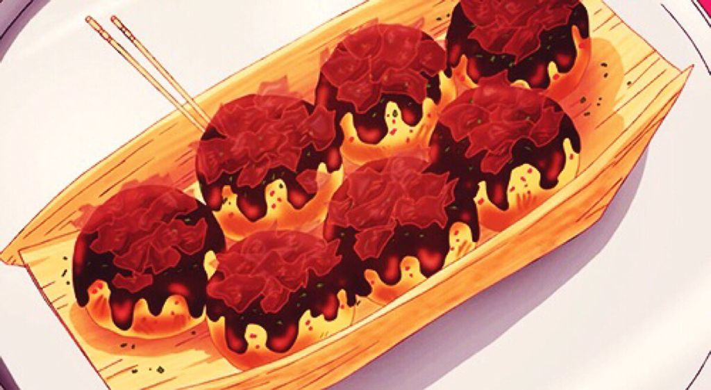 没食欲的动漫图片_求几张动漫里的章鱼小丸子图片!!有没有看起来很好吃的那种 ...