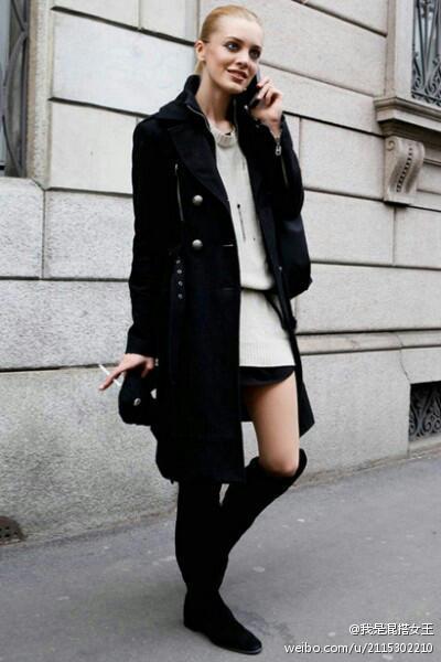 美丽说蘑菇街哈伦裤_黑色风衣配什么裤子好看_百度知道