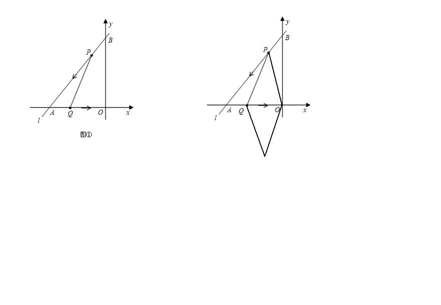 月经量��l$y�#�.b:,��!_如图①,直线l是一次函数y=3/4x+3的图象,l与x轴,y轴分别交于a,b两点.