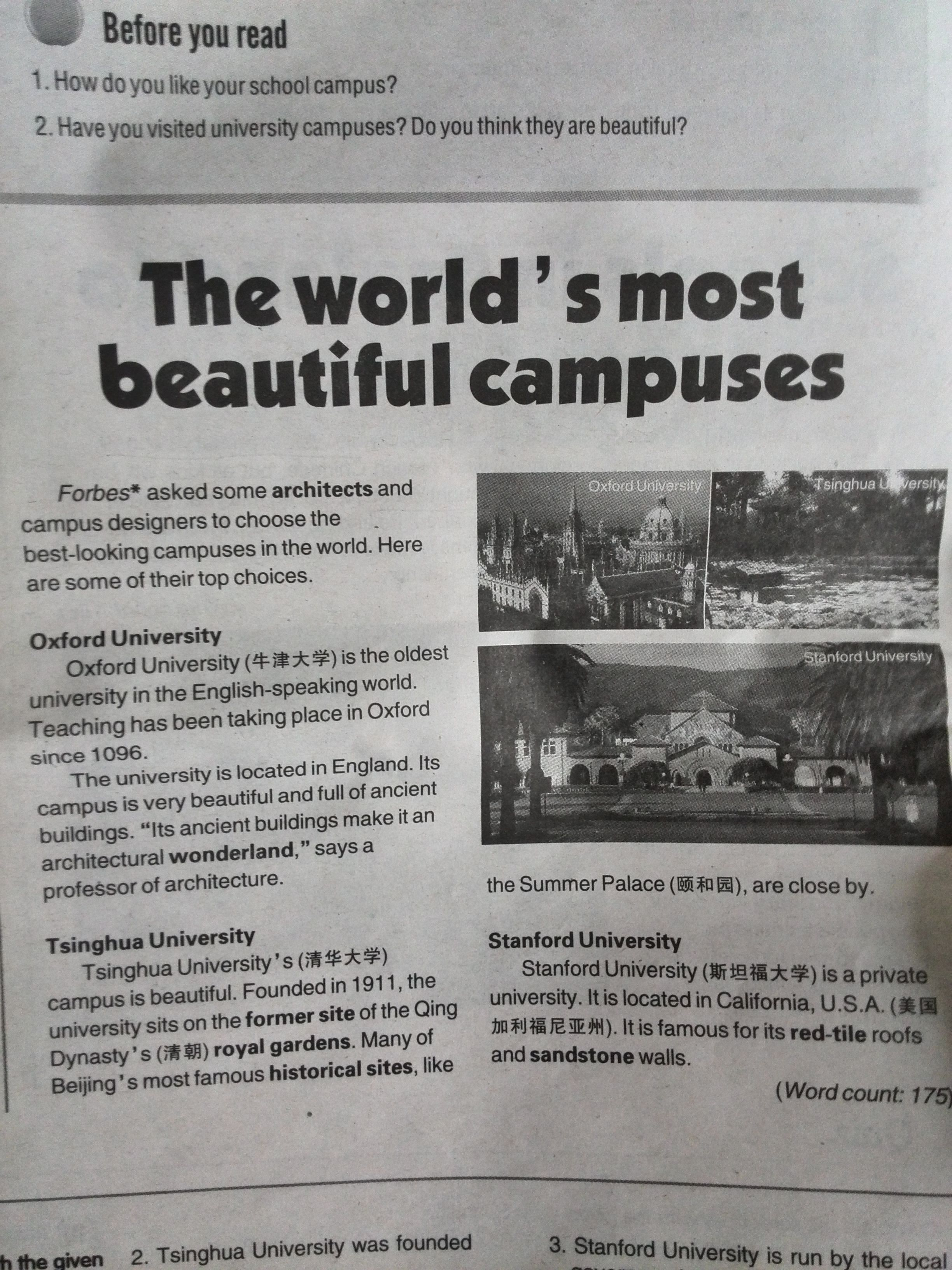 The World 39 S Most Beautiful Campuses