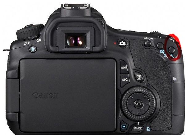 数码相机产品定位_佳能6D如何手动选择对焦点_百度知道