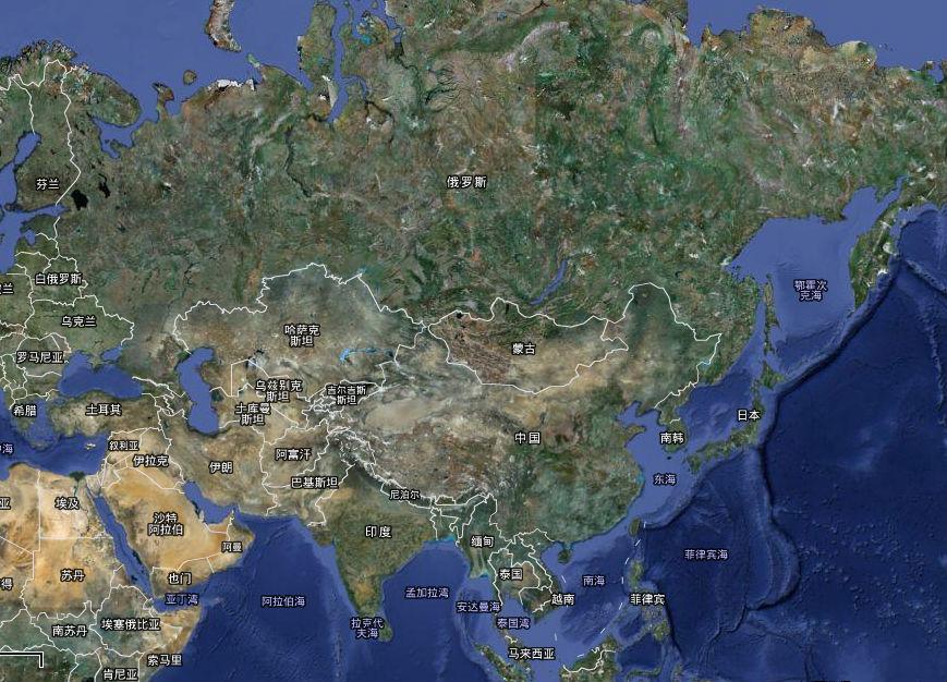 中国卫星地图是北斗的卫星么