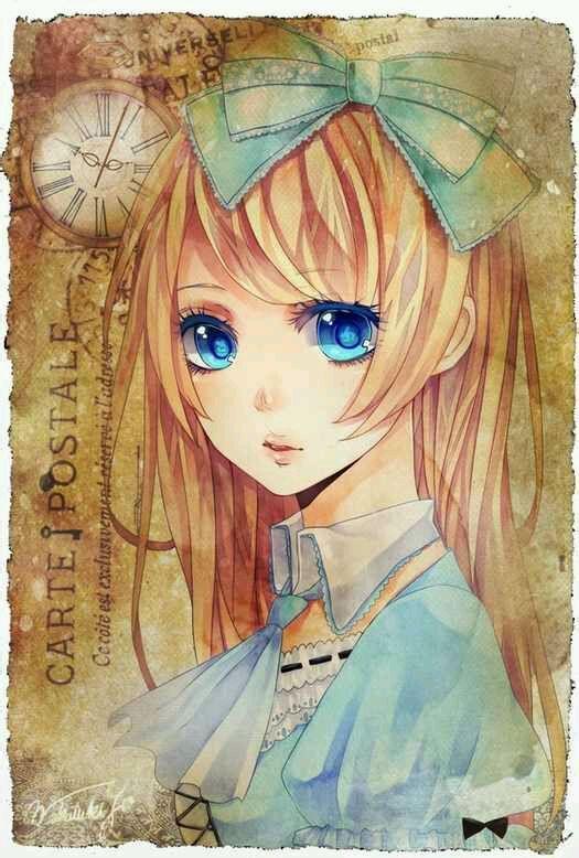 很色的学生动漫少女_有没有像这种瞳色很漂亮的动漫女孩的图片_百度知道