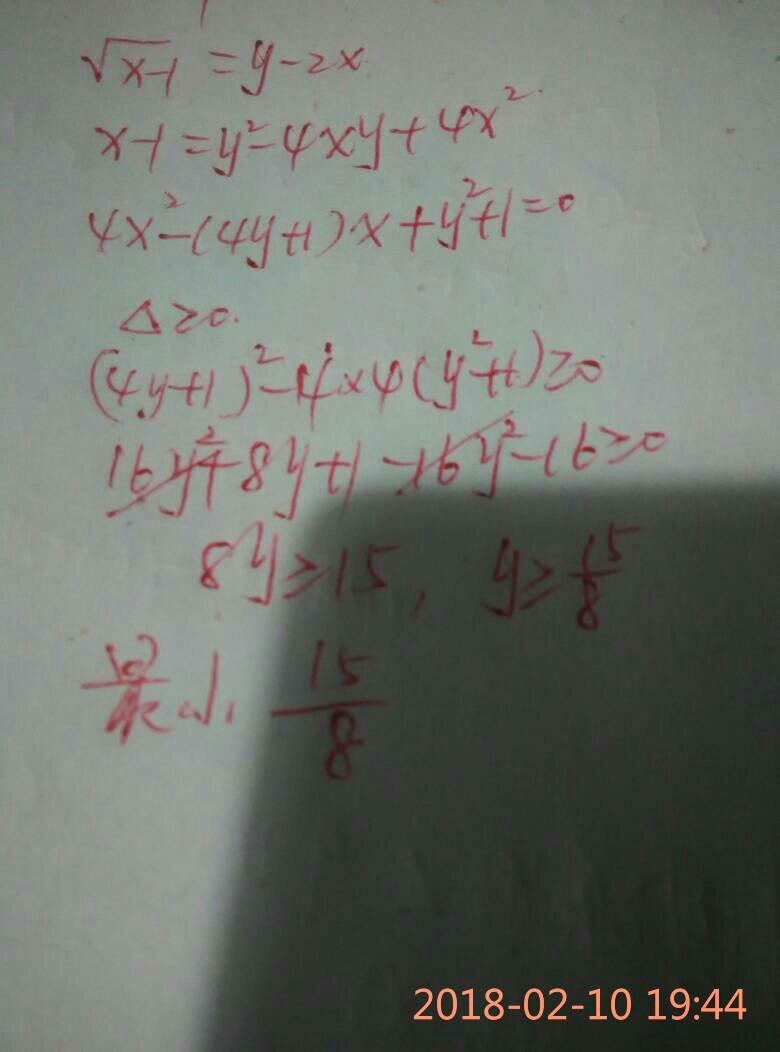 函数最小值定义