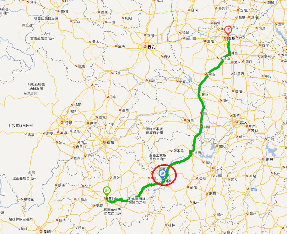 怀化市区地图高清全图