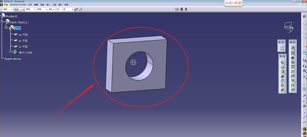 CATIA V5 R20里面如何测量零件的外形尺寸?_百度知道