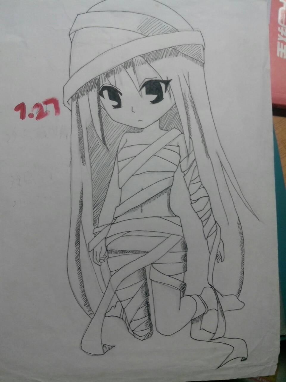 画日本动漫人物教程_我想学动漫人物,就是日本动漫里那些动漫人物。这是我对着 ...