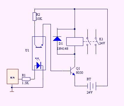 5v控制24v电路_求单片机驱动直流电磁阀电路图_百度知道
