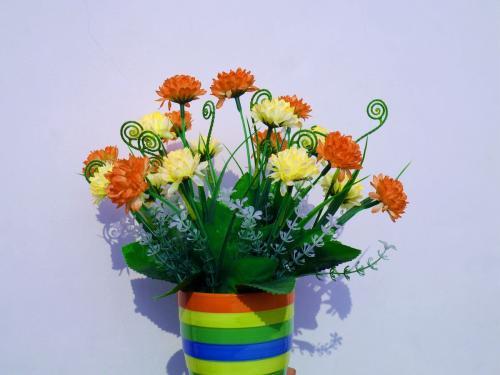 室內塑料花應怎樣清洗?