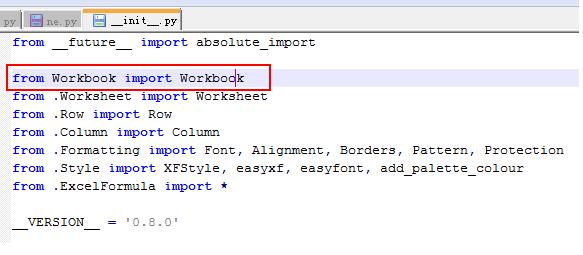 """python】xlwt写入excel报错""""from Workbook import Workbook"""" importError"""