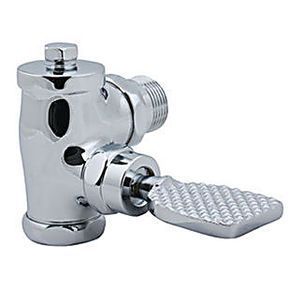 脚踏冲洗阀安装_脚踏式冲水阀安装水管高度是多少_百度知道