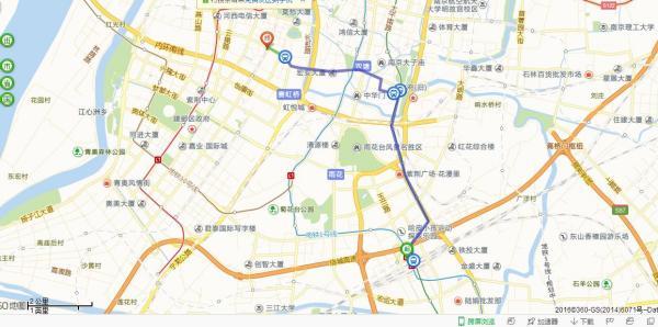 南京高铁到南湖路坐几号地铁