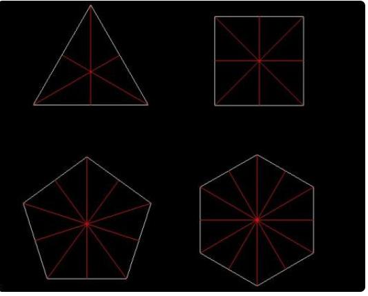 用四个同样的三角形能拼成什么图形插图