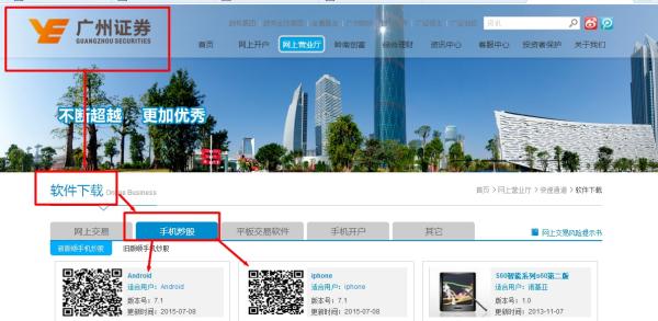 【广州证券下载】广州证券网上交易下载