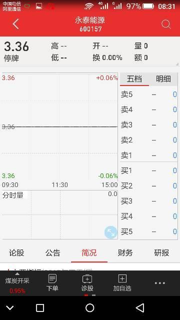 【永泰能源股吧】永泰能源这只股票怎么样