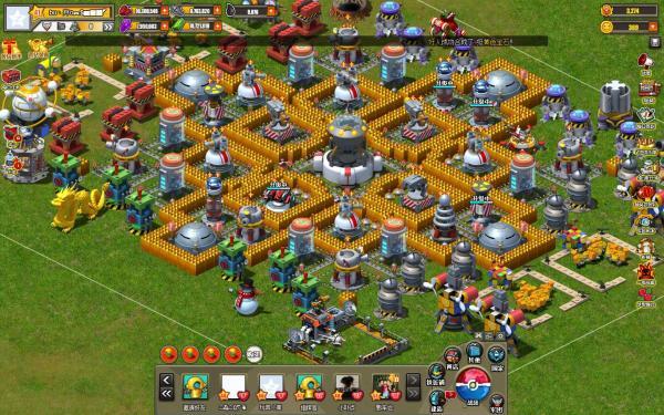 求玩具战争14级主基地阵型图片