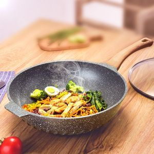 韩国产麦饭石涂层不粘锅对人体有害吗?锅的涂