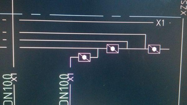 cad中,消防管道图纸的这个图标代表什么