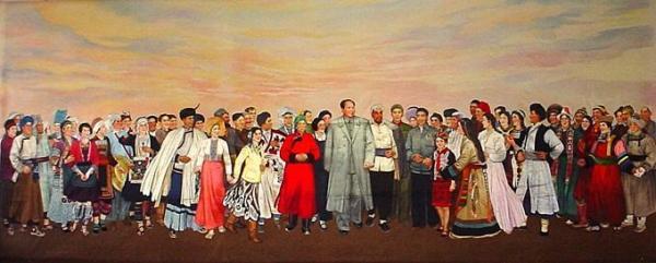 朝鲜族诗词图片,有关五十六个民族的诗歌要童谣