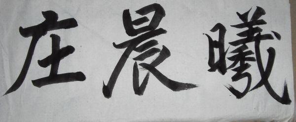 男人是外貌协会_求图片:庄晨曦的毛笔字怎么写_百度知道