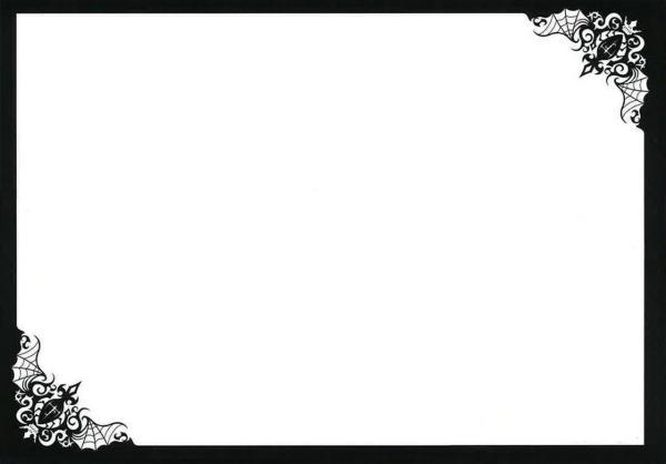 """黑执事那个执事_求白色黑框ppt背景,最好和""""黑执事""""漫画封面的那个背景一样 ..."""