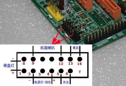 联想主板_联想ih61m主板怎么连接机箱前置音频线??_百度知道