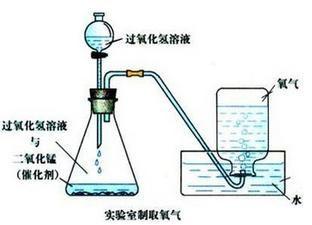 过氧化氢制氧气_双氧水制取氧气为什么采用分液漏斗_百度知道