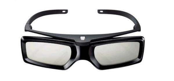 sony电视机带的3d眼镜怎么用?