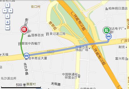 在东莞长安汽车北站做几路到大康惠图片