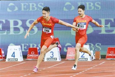 4x100米接力亚洲纪录是多少