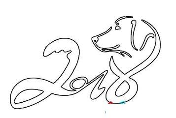 有哪些可爱的小狗年画简笔画