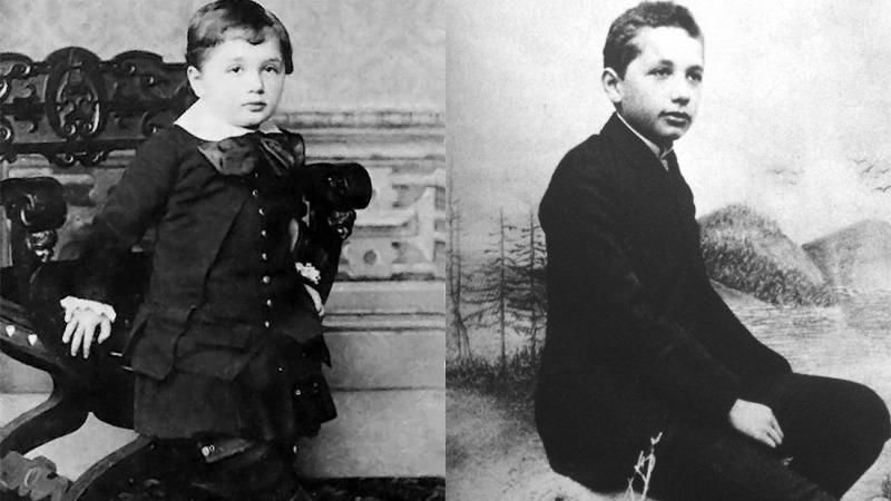 爱因斯坦小时候考1分,成绩真的很差吗?
