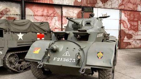 二战美军的神奇小六轮:欧洲侦查用,亚洲却是坦克杀手