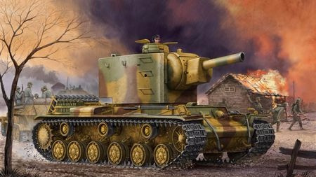 德国人也信奉152神教?苏制KV-2重型坦克的德军服役传奇
