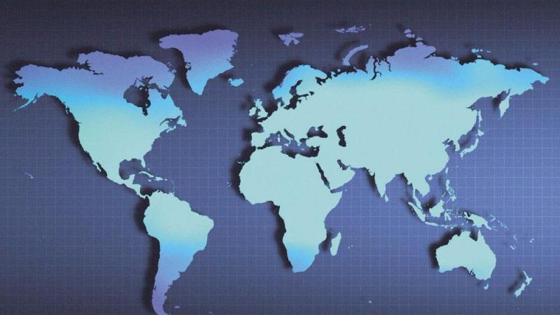 横竖看世界——中国真的在世界的中间吗?的头图