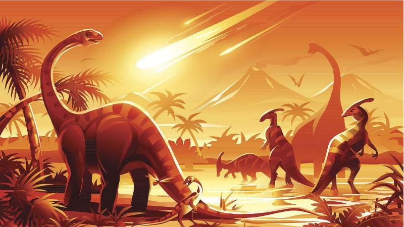 """土星、木星""""发病""""使恐龙灭绝?"""